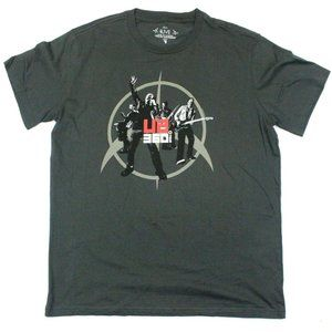 U2 360° Tour 2011 Band Photo Itinerary Tee - L
